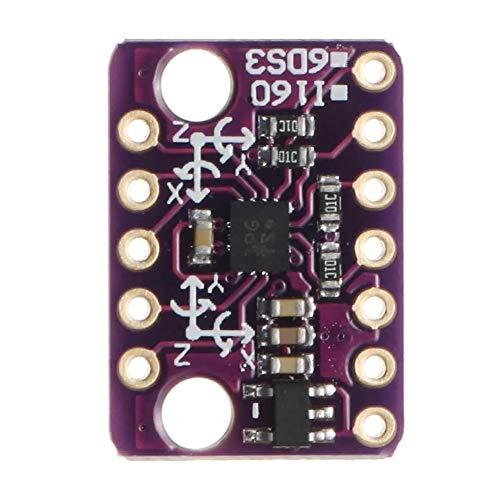 Elektronisches Zubehör BMI160 Modul 6DOF 6 Achsen-Winkelgeschwindigkeits Gyroscope + Erdbeschleunigung Sensor IICSPI Zubehör