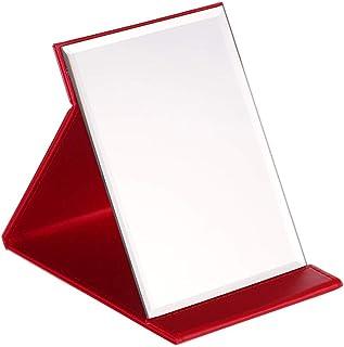 KTYXGKL Simple Fashion Makeup Mirror Desktop Vanity Mirror Folding Mirror Makeup Mirror (Size : M)