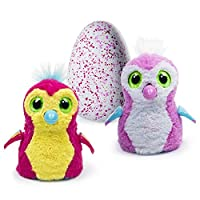 Scopri il tuo Hatchimals Pengualas E' una magica creatura interattiva che si schiude per davvero All'interno dell'uovo interagisce grazie a luci e suoni Può schiudersi solo con il tuo aiuto Fuori dall'uovo cresce per davvero sbloccando giochi e funzi...