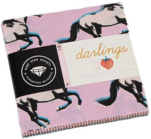 Moda Ruby Star Society Darlings Charm Pack