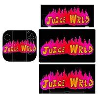 ジュース Juice Wrld Switch スイッチ用 シール 装飾用ステッカー スタイリッシュ 抜群 スキン 高級感のある手触り おしゃれ 保護 ドレスアップ キズ防止 丈夫で長持ち 繰り返し使用可能