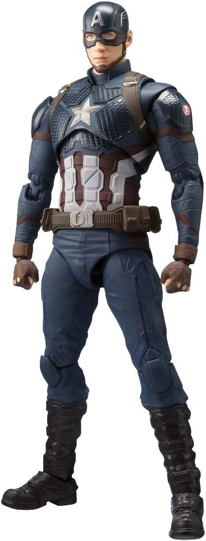 NEW Premium Bandai S.H.Figuarts Captain Marvel Avengers Endgame Action Figure
