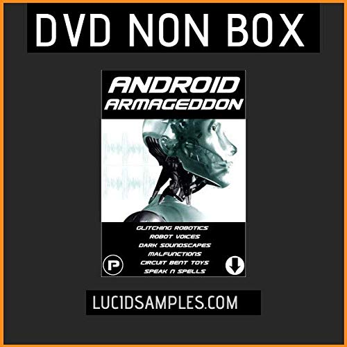 ROBOT Dj Sample Pack Android Armageddon - Robot Voices and Vocals, Robotic...
