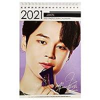 防弾少年団(BTS/バンタンソニョンダン)JIMIN(ジミン)2021.2022年 2年分卓上カレンダー