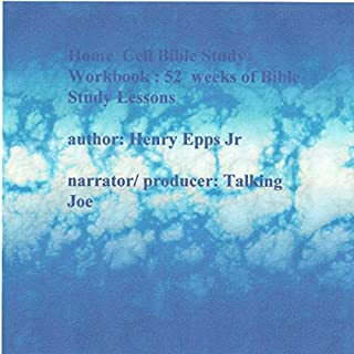 Home Cell Bible School Workbook audiobook cover art