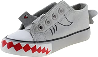 Baby Boy's Girl's Canvas Shoes Slip-on Cartoon Sneakers(Toddler/Little Kid)