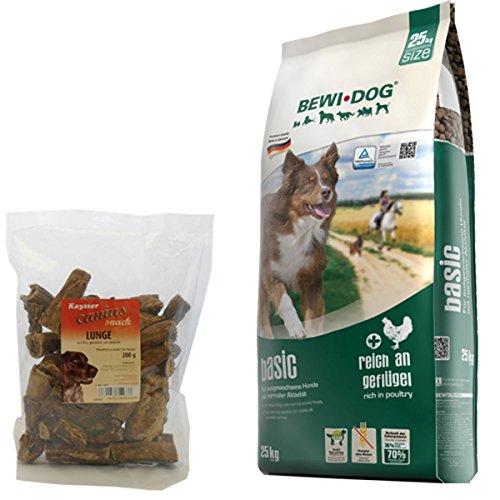 Bewi Dog 25 kg Basic + 200 g Canius Lunge