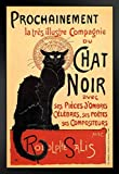 Poster Foundry Le Chat Noir The Black Cat Vintage Werbung