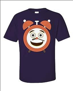 Funny Alarm Clock - Timekeeper Hours Minutes Seconds Hands - Time Humor - Unisex T-Shirt