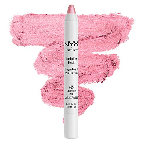 NYX PROFESSIONAL MAKEUP Jumbo Eyeliner Pencil - Strawberry Milk (Pearly Pink)