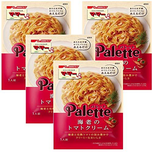 マ・マー Palette 海老のトマトクリーム(あえるだけパスタソース)80g ×4袋