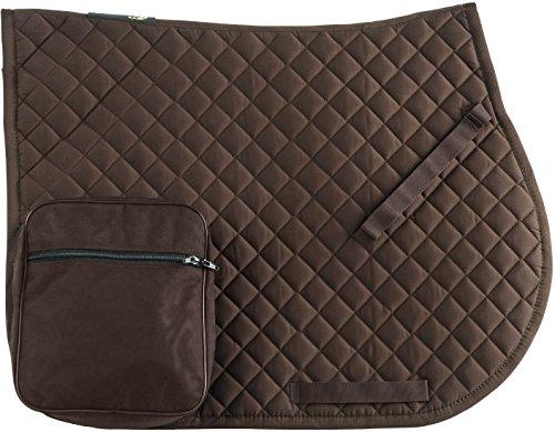 RANDOL'S 204530 Pockets Trail Schabracke, Unisex, 204530, Schokoladenbraun, Einheitsgröße