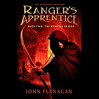 Ranger's Apprentice, Book 2 audiobook cover art