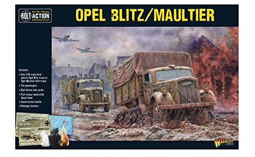 Warlord Games, Opel Blitz/Maultier, Bolt Action Wargaming Miniaturas