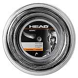HEAD Unisex-Erwachsene Hawk Rolle 200 Tennis-Saite, schwarz, 16