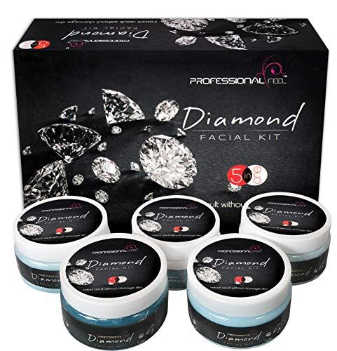 Professional Feel Diamond Facial kit, Beauty Skin Whitening All Type skin solution - 820 Gm