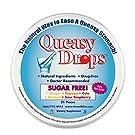 Queasy Drops Sugar Free | 21 Drops | Nausea Relief (Chemo, Motion Sickness, Hangover etc.) | Drug Free & Gluten Free | Five Flavors: Ginger, Papaya, Cola, Banana, & Raspberry