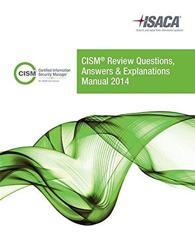 CISM Review QAE Manual 2014