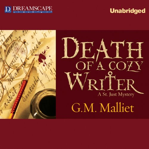 Death of a Cozy Writer audiobook cover art