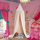 Cama para niños de cúpula de princesa, fácil de colgar, habitación Play de tienda de campaña para niños, cortinas para bebé, malla para mosquitos para interior y al aire libre, para jugar y lectura