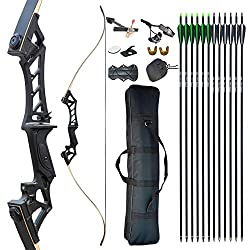 D&Q TAKEDOWN RECURVE BOW AND ARROW