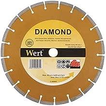 Wert W 2711/115 Granit Mermer Elmas Tesetere, Turuncu/Gri 115Mm