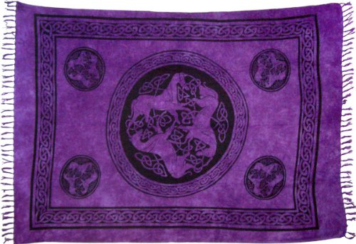 Celtic Horse Sarong (Purple)