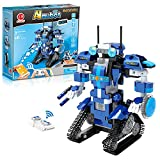 NextX Roboter Kinder Programmierbar Ferngesteuert App-gesteuert, STEM Technik Bausteine Konstruktionsspielzeug mit Bluetooth-Funktion, Geschenk für Kinder ab 7 Jahren