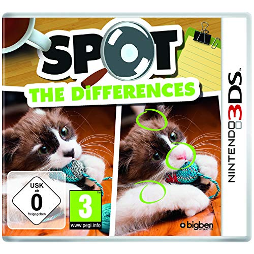 Bigben Interactive Spot the Differences vídeo - Juego (Nintendo 3DS, Acción, E (para todos), Descarga)