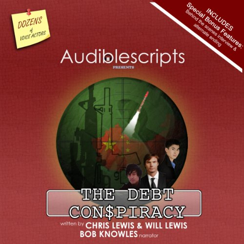 The Debt Con$piracy audiobook cover art
