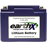 EarthX ETX36C Eco-Friendly Lithium Motorcycle Battery with...