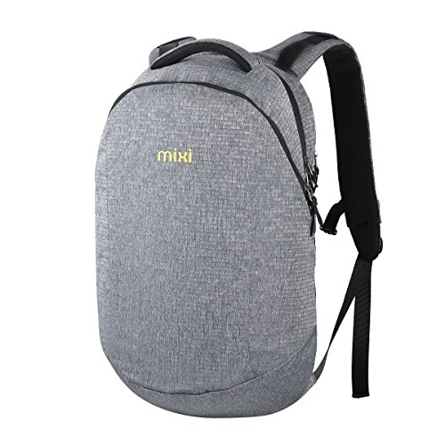 Mixi Lightweight Canvas Laptop Backpack Travel Bags Daypack with Computer Compartment for School...