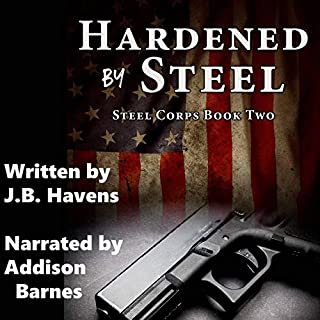 Hardened by Steel  audiobook cover art