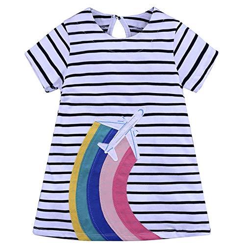 N-B Abbigliamento per Bambini Europeo E Americano Stile Estate Gonne per Bambini Stampa Ragazze Abiti Per Bambini Gonne Corte Moda Casual
