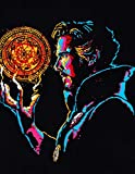 Dr. Strange Neon Style Spray Painting on Sheet Metal