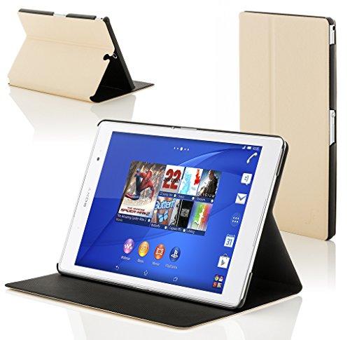 Forefront Hülles Hülle für Sony Xperia Z3 8.0 8-Zoll Tablet Compact Schutzülle Hülle Cover und Ständer - Dünn Leicht, R&um-Geräteschutz und Auto Schlaf Wach Funktion - Weiß