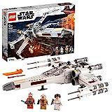 LEGOStarWarsX-WingFighterdiLukeSkywalker,GiocattoloconlaPrincipessaLeiaeilDroideR2-D2,75301