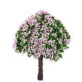 Naisicatar 2 PCS Miniatur-Fee-Garten-Baum Pflanze Miniatur-Puppenhaus Micro Landschaft DIY...