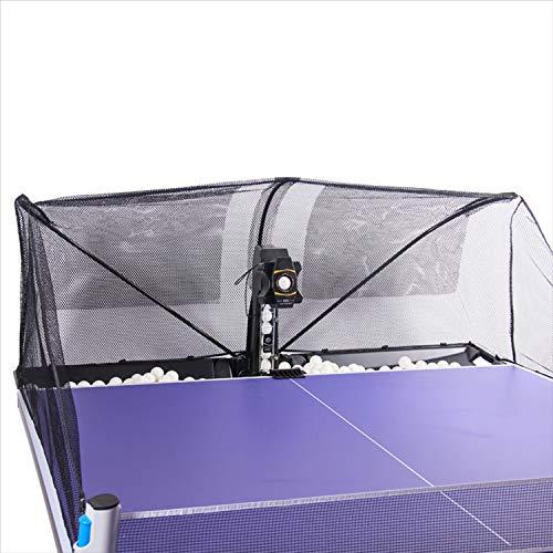 MYRCLMY Robot De Entrenamiento De Tenis De Mesa: Sirve Una Regla De 40 Mm Ping Pong Balls Automáticamente - Play Solo W/O Modo De Reproducción En Su Mesa Ping Pong