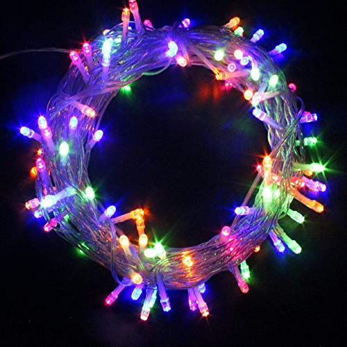 50/100/200/300/400/500 LED Battery Power Operated String Fairy Lights Christmas Xmas Party (400, Multi)
