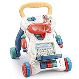 NBHUYT Carro con Tanque de Agua de múltiples Funciones de Inicio de la Primera Infancia Niños Educación del Caminante del bebé de 0-1 años del bebé Juguetes (Color : White, Size : 42.3 * 45 * 33cm)