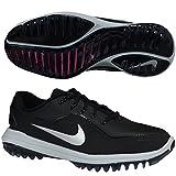 Nike New Womens Lunar Control Vapor 2 Golf Shoes Black/Silver Size 8.5 W