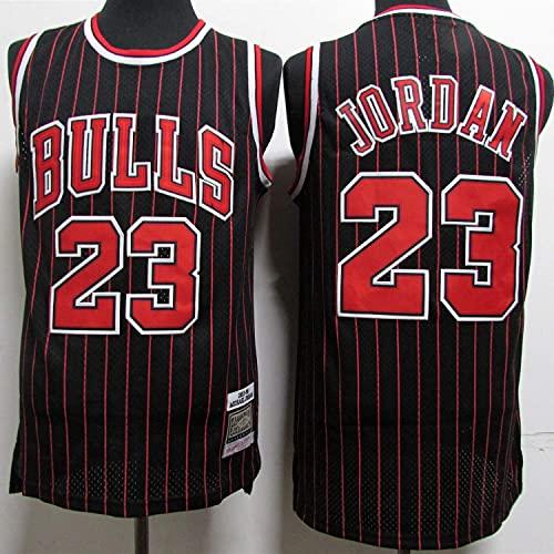 WEIZI Chicago Bulls Michael Jordan #23 Hombre Jersey Swingman Camiseta de Baloncesto(Tamaño:...