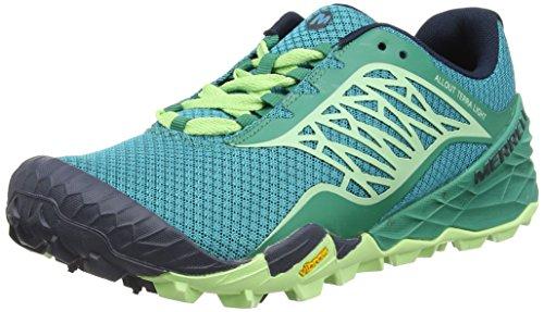 Merrell All Out Terra Light Women's Walking Shoes - SS16-8 - Blue