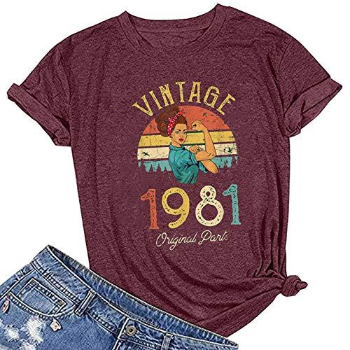 cinnamou Damen T-Shirts Tops Bluse Short-Sleeve V-Neck Druck Slim-fit Graphic T-Shirts S/M/L/XL/XXL/XXXL