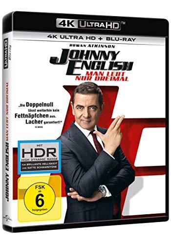 Johnny English - Man lebt nur dreimal (4K Ultra HD) (+ Blu-ray 2D)