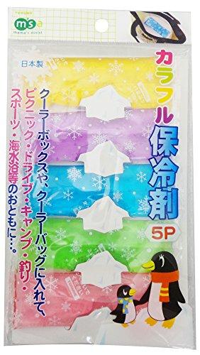 トルネ保冷剤カラフル保冷剤5個入P-3179
