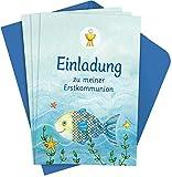 Der Wunschfisch: Einladungskarten zur Erstkommunion - Silvia Habermeier