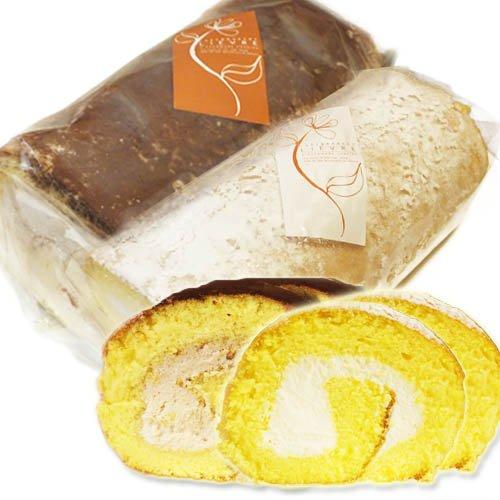 もっちり米粉のロールケーキ「米っ娘ロール」お得な2個セット