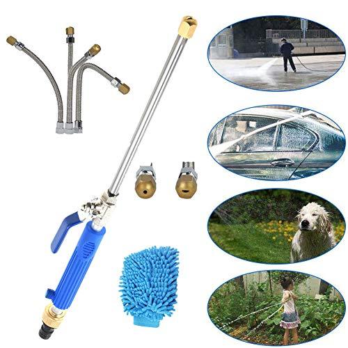 Hogedruksproeier met sproeier, auto-hogedrukreiniger met 2 sproeiers voor irrigatie en decontaminatie,Blue